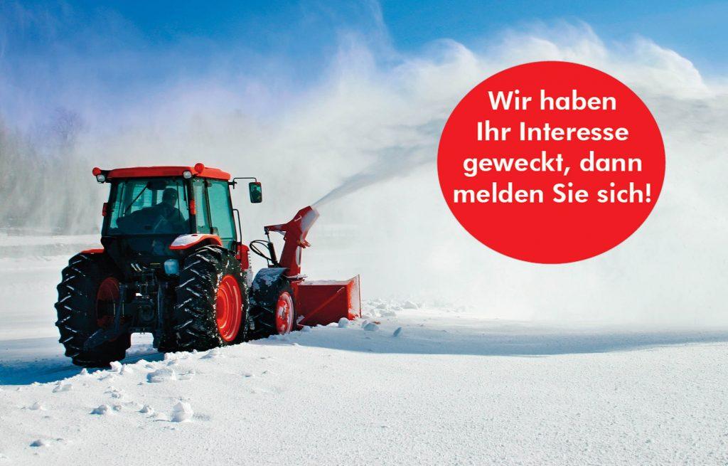Landwirte für den Winterdienst